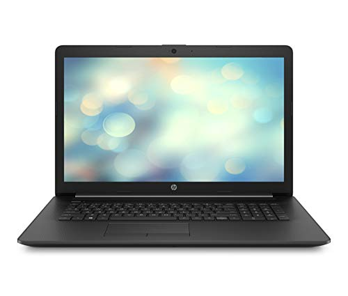 HP 17-by2212ng (17,3 Zoll / HD+) Laptop (Intel Pentium 6405U, 8GB DDR4 RAM, 256GB SSD, Intel UHD Graphics, Windows 10 Home) Schwarz