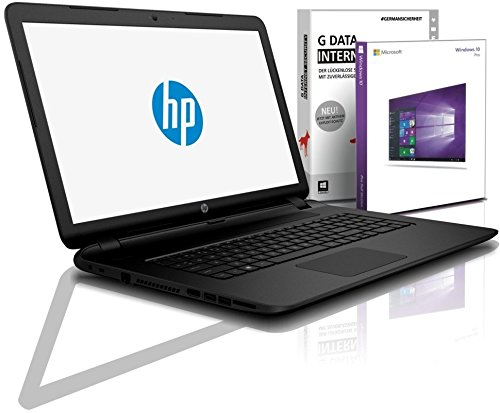 HP (15,6 Zoll) Notebook (Intel N4000, 2.6 GHz, 8GB DDR4, 256 GB SSD, DVD±RW, Intel HD, HDMI, Webcam, Bluetooth, USB 3.0, WLAN, MS Office, Windows 10 Prof. 64 Bit) #6613