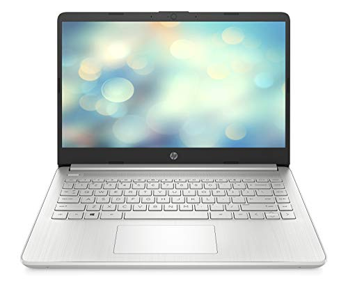 HP 14s-fq0214ng (14 Zoll / HD) Laptop (AMD 3020e dual, 4GB DDR4 RAM, 64GB eMMC, AMD Radeon Graphics, Windows 10 Home) silber